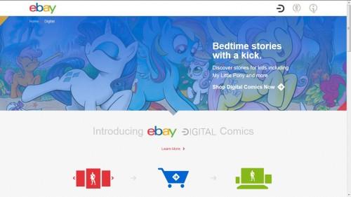 ebay digital comics